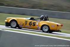 Chris Crisenbery's 1969 Triumph Spitfire in the H Production class at the 2013 #SCCA #Runoffs