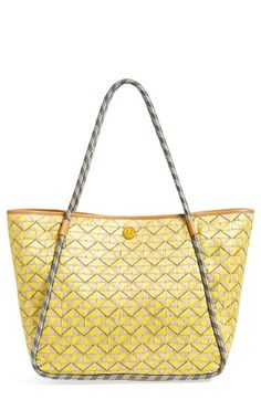 Tory+Burch+'Mosaic'+Straw+Tote+available+at+#Nordstrom
