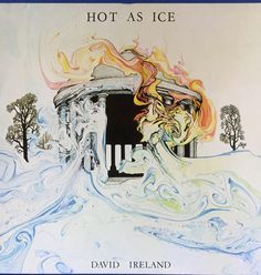 David Ireland - Hot As Ice Signed Copy Rare 1978 Ltd Edition 1000 only  -Private Pressing Folk Rock VINYL LP by VintageTimeAfterTime on Etsy