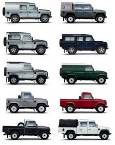 Land Rover Defender - Styles