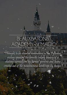 Beauxbatons gif