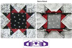"""From Marti Michell Quilting Blog: Chart 11: The Patchwork Trio & Addie Block #1 (includes 4  8 1/2"""" blocks) in the Farmer's Wife 1930s Sew Along"""