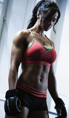 Weight lifting schedule for 12 weeks, for building muscle for women. I'm not gonna lie, I wouldn't mind looking a little like this. It'd be nice to not only feel like a badass, but look like one too.