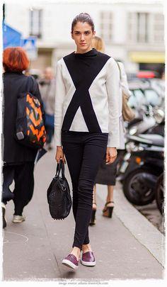 Street Style Inspiration Ana Buljevic - Street Style Snapshot