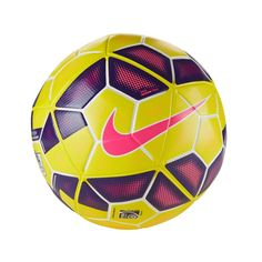 Nike Ordem 2 EPL Hi-Vis SC2530-705. Offering true flight and excellent touch, claimed to offer perfect sphericity, this allows the ball to fly faster, farther and more accurately while the micro-textured surface equalises surface airflow for enhanced control. http://zocko.it/LE1i9