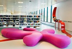 La Biblioteca Hjørring, Dinamarca