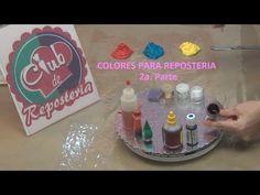 Colores para Reposteria – 2a. Parte | Club de Reposteria Cupcake Wars, Cupcakes, Cookies, Club, Empanadas, Fondant, Pasta, Youtube, Sweets