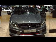 Mercedes-Benz CLA 250 Sport 4MATIC Exterior and Interior in Full HD - YouTube
