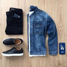 Awesome 35 Capsule Wardrobe Approved Outfit Grid for Men Stylish Mens Outfits, Casual Outfits, Men Casual, Casual Chic, Urban Outfits, Trend Fashion, Daily Fashion, Fashion Sale, Fashion Outlet