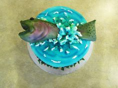 Fish Birthday Cake   By Curtis-C-Cakes