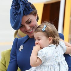 "Princess Charlotte on Twitter: ""#RoyalVisitCanada"