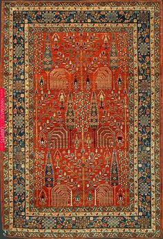 Afghan Bidjar Rug at Emmett Eiland's Oriental Rugs Wall Carpet, Rugs On Carpet, Iranian Rugs, Carpet Colors, Red Carpet, Persian Carpet, Persian Rug, Tribal Rug, How To Clean Carpet