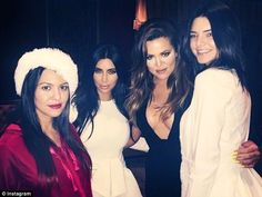 Keeping her Kool?:Last Christmas with sisters Kourtney, Kim and Kendall. Now ...