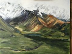 Denali, Alaska Painting Digital, Denali Alaska, Fine Art, Whiskey, Studio, Whisky, Visual Arts, Study