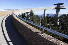 Clingmans Dome - This is quite the hike, but the view is amazing!