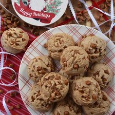 Cinnamon Chip Holiday Spice Cake Mix Cookies