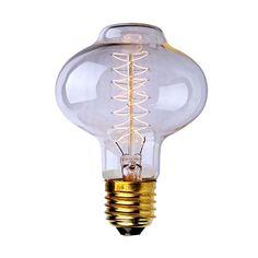 40w, E27, 110v, L85spiral Retro Edison Light Bulb Screw Antique Light Tungsten Wire Light Lamp Home Filament Glass Bulb http://www.amazon.com/dp/B00Q197MRS/ref=cm_sw_r_pi_dp_Lm66vb02WYFD3