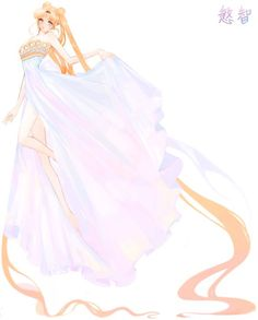 .princess serenity by 慜智さん_ #sailormoon
