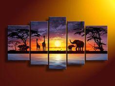 Safari home decor | safari painting