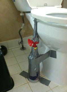 Mean Toilet Prank