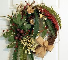 Hey, I found this really awesome Etsy listing at http://www.etsy.com/listing/158462771/round-grapevine-wreath-front-door-wreath