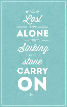carry on lyrics