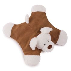 Floppy Dog Plush Low Stuffing Toy for Dog Puppy to Play Cuddle 5 Squeakers Soft