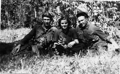 Faye Schulman and Soviet partisans in the forest. Faye Schulman was born in a large family in Poland on November 28, 1919. On August 14, 1942 the Germans killed 1850 Jews from the Lenin ghetto, including her parents, sister and younger brother. They spared only 26 people, one of them was Faye. Later she fled to the forests and joined the partisan group, consisting mainly of fugitive Soviet prisoners of war.