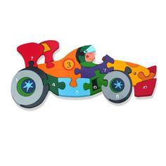 Number Racing Car