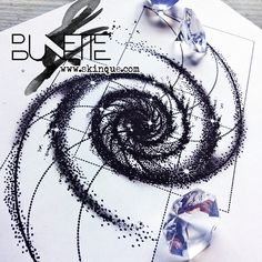 Custom tattoo designs, illustrations and wide variety of artwork and artistic prints. Sky Tattoos, Spiral Tattoos, Vine Tattoos, Elbow Tattoos, Line Art Tattoos, Circle Tattoos, Sleeve Tattoos, Tattoo Ink, Tatoos