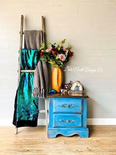 A furniture transfer! My style is more of a whimsical bohemian look so this was just a little out of the box for me. Diy Furniture Projects, Upcycled Furniture, Furniture Makeover, Vintage Furniture, Colorful Furniture, Cool Furniture, Painted Furniture, Toddler Playroom, Furniture Inspiration