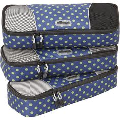 eBags Slim Packing Cubes - 3pc Set 16 Colors Packing Aid NEW #eBags