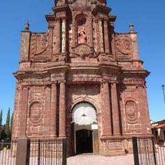Parroquia de San Miguel, en Tlazazalca Mich. Edificado en siglo XIX. México.