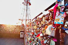 namsan tower locks of love Namsangongwon-gil, Yongsan-gu, Seoul, South Korea Asking Alexandria, Camden, Asia Expat, South Korea Seoul, Love Lock, Bts, I Want To Travel, Travel Goals, Oh The Places You'll Go