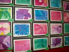 kindergarten art lessons | Art With Mr. E: Kindergarten Art Show Work