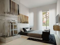 B's bedroom minimalist slick style by trystliving