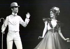 "Joel Grey and Bernadette Peters in ""George M!"""