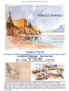 Tonge's Travels - OLD SCHOOL PRESS Touring, Old School, Old Things, Boat, World, Travel, Beautiful, Dinghy, Viajes