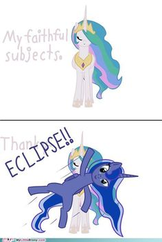 Luna Eclipse- is this where Krista got this from? I thought she was just misunderstanding me pronouncing Lunar Eclipse when i tried to show one to her!
