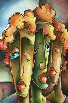 Urban Painting -   Different Approach  by Michael Lang
