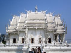 Side view of the White Temple, #Chiang #Rai