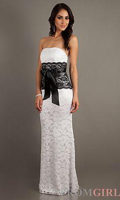 Victoria Secret Strapless Lace Dress