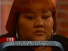 """When Nicole got worried about her sister. 
