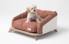 This modern dog or cat bed has a wrap around aluminum support lined by cushions, allowing your furry friend to have a sense of security and plenty of comfort. # Pets furniture Modern Pet Furniture - Houses, Couch, And Feeder Phuket, Dog Furniture, Dog Rooms, Diy Stuffed Animals, Dog Accessories, Bed Design, Pet Shop, Decoration, Modern Dog Beds