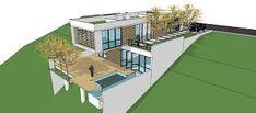 Resultado de imagem para apartamentos com telhados muito inclinados