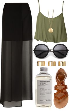 """olive"" by rachelgasm ❤ liked on Polyvore"
