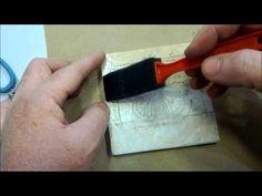 Week #5 Stamped Coasters -  A Work of Heart Studio