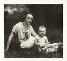 August Sander. III/14/1. Young Mother, Middle-Class, 1926. Gelatin Silver Print, printed later by Gerd Sander © Photographische Sammlung/SK ...