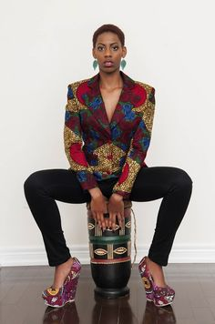 African Prints in Fashion: Prints of the Week: Rahyma