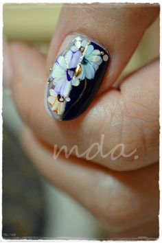 Mda nail, design, art, paint, sticker paint